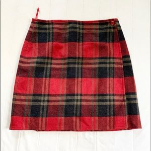 Britches Great Outdoors Plaid Wool Wrap